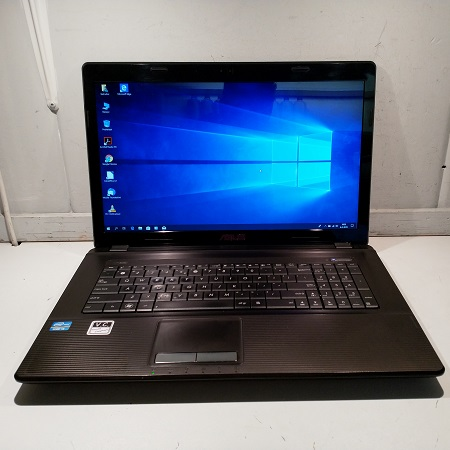 Asus Intel I3 / 4GB / 120GB / 17.3″ / Win10