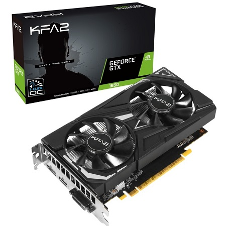 KFA2 NVIDIA GeForce GTX1650 EX GDDR5